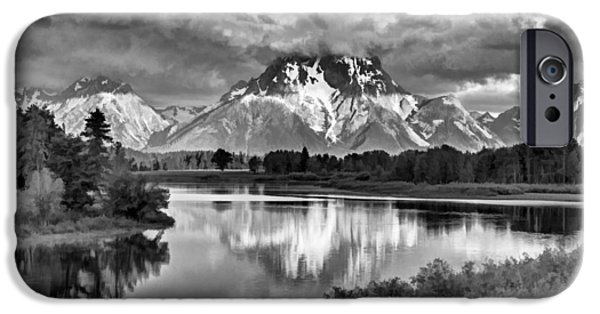 More On The Mountain II IPhone Case by Jon Glaser