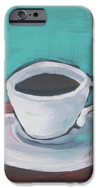 Morning Coffee IPhone Case by Vesna Antic