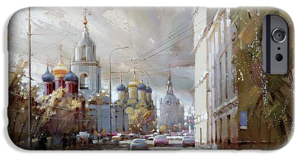 Moscow. Varvarka Street. IPhone 6s Case by Ramil Gappasov