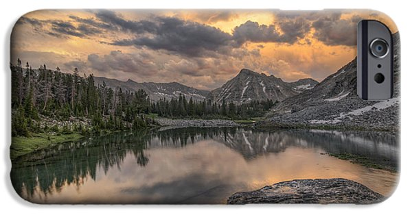 Mountain Beauty IPhone Case by Leland D Howard