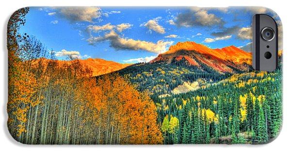 Mountain Beauty Of Fall IPhone Case by Scott Mahon