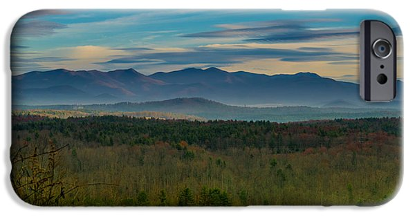 Mountain Views From Blue Ridge Parkway IPhone Case by Joseph Kimmel