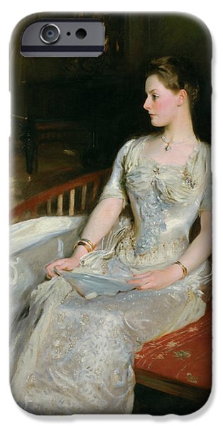 Mrs Cecil Wade IPhone Case by John Singer Sargent