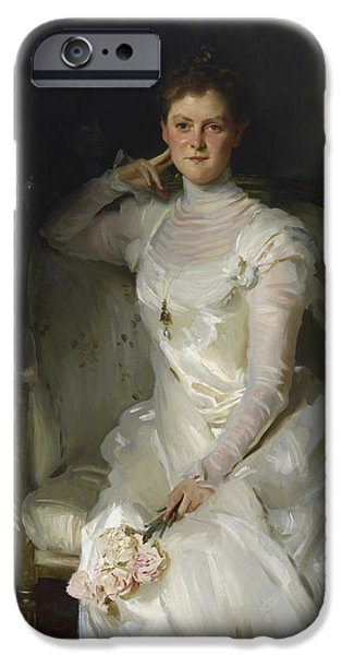 Mrs Joshua Montgomery Sears IPhone Case by John Singer Sargent