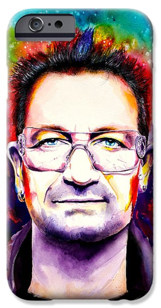 My Colors For Bono IPhone Case by Isabel Salvador