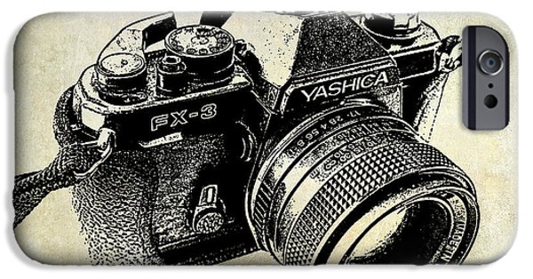 My First Camera IPhone Case by Jon Neidert