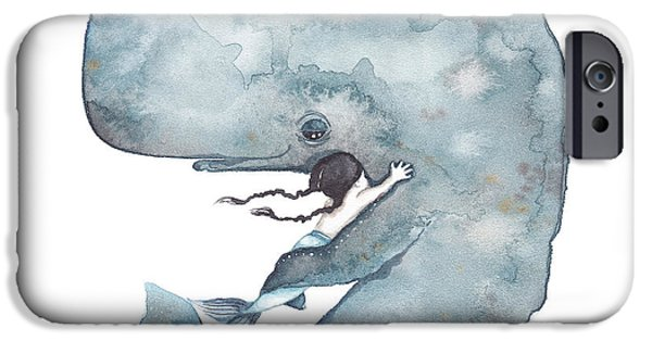My Whale IPhone 6s Case by Soosh