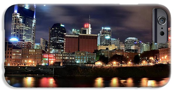 Nashville Skyline IPhone Case by Frozen in Time Fine Art Photography