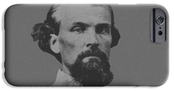 Nathan Bedford Forrest IPhone Case by War Is Hell Store