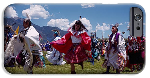 Native Americans Dancing, Taos, New IPhone Case by Panoramic Images