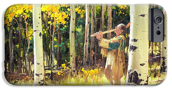 Native Sound In The Forest IPhone Case by Gary Kim