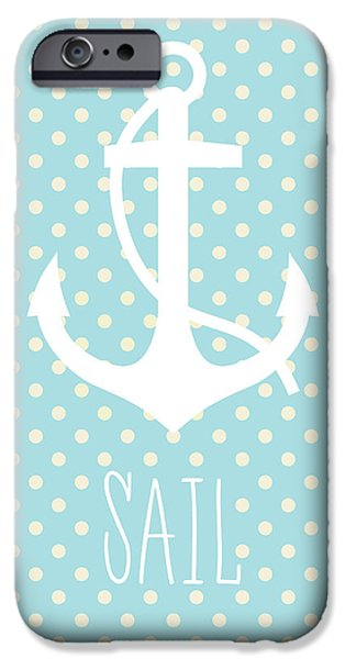 Nautical Anchor Art Print IPhone 6s Case by Taylan Soyturk