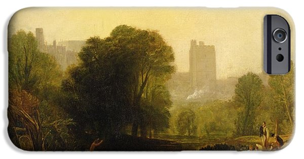 Near The Thames Lock Windsor IPhone Case by Joseph Mallord William Turner