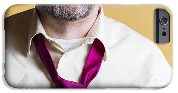 Necktie IPhone Case by Lasse Ansaharju