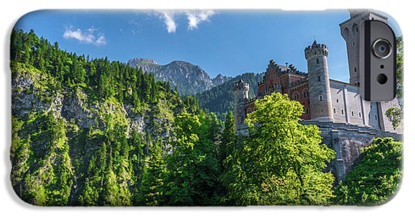 Neuschwanstein Castle IPhone Case by David Morefield