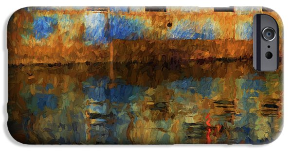 New Bedford Waterfront No. 6 IPhone Case by David Gordon
