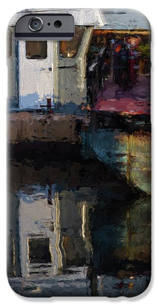 New Bedford Waterfront  Xxiv IPhone Case by David Gordon