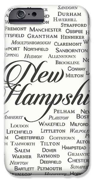 New Hampshire IPhone Case by Finlay McNevin