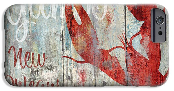 New Orleans Gumbo IPhone Case by Mindy Sommers