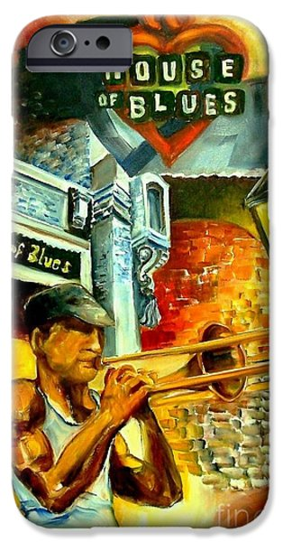 New Orleans' House Of Blues IPhone 6s Case by Diane Millsap
