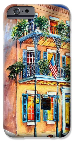New Orleans' La Fitte's Guest House IPhone Case by Diane Millsap