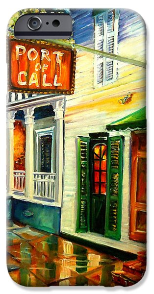 New Orleans Port Of Call IPhone Case by Diane Millsap