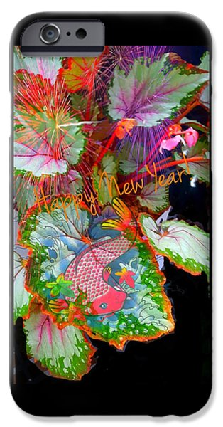 New Year Resolution  IPhone Case by ARTography by Pamela Smale Williams