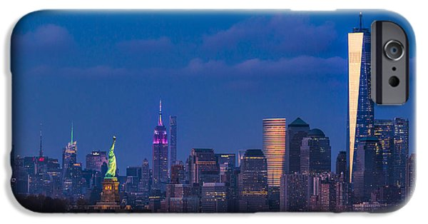 New York City Icons IPhone Case by Susan Candelario