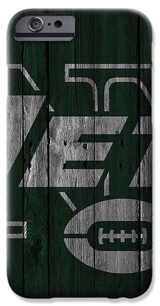 New York Jets Wood Fence IPhone 6s Case by Joe Hamilton