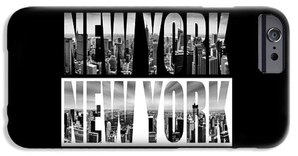 New York New York IPhone Case by Az Jackson