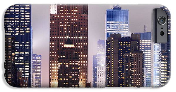New York Skyscrapers IPhone Case by Rospotte Photography