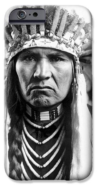 Nez Perce Native American IPhone Case by Granger