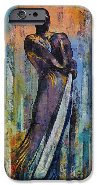 Ninja IPhone Case by Michael Creese