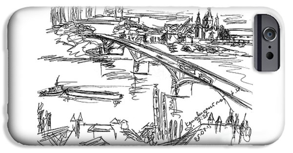 Nizhny Novgorod, Russia, Kanavinsky Bridge. 25 August, 2015 IPhone Case by Tatiana Chernyavskaya