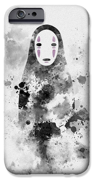 No Face IPhone Case by Rebecca Jenkins