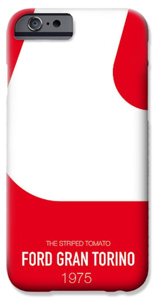 No003 My Starsky And Hutch Minimal Movie Car Poster IPhone Case by Chungkong Art