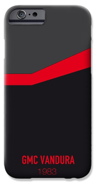 No023 My Ateam Minimal Movie Car Poster IPhone Case by Chungkong Art