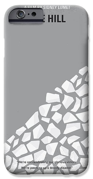 No091 My The Hill Minimal Movie Poster IPhone Case by Chungkong Art