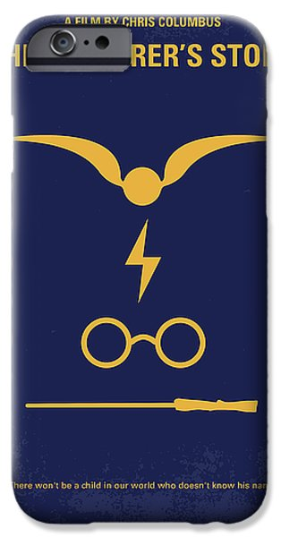 No101 My Harry Potter Minimal Movie Poster IPhone Case by Chungkong Art