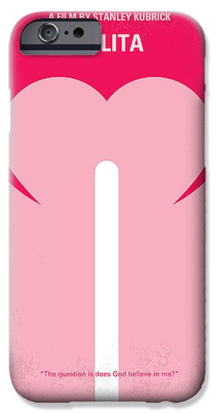No109 My Lolita Movie Poster IPhone Case by Chungkong Art
