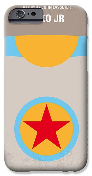 No171 My Luxo Jr Minimal Movie Poster IPhone Case by Chungkong Art