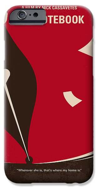 No440 My The Notebook Minimal Movie Poster IPhone Case by Chungkong Art