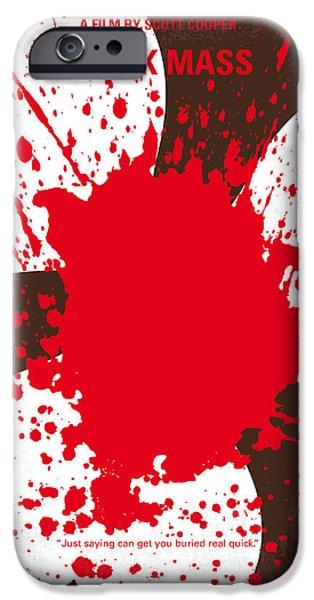 No471 My Black Mass Minimal Movie Poster IPhone Case by Chungkong Art