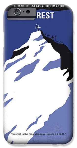 No492 My Everest Minimal Movie Poster IPhone 6s Case by Chungkong Art