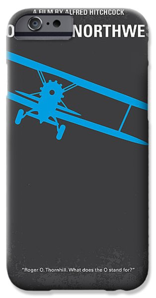 No535 My North By Northwest Minimal Movie Poster IPhone 6s Case by Chungkong Art