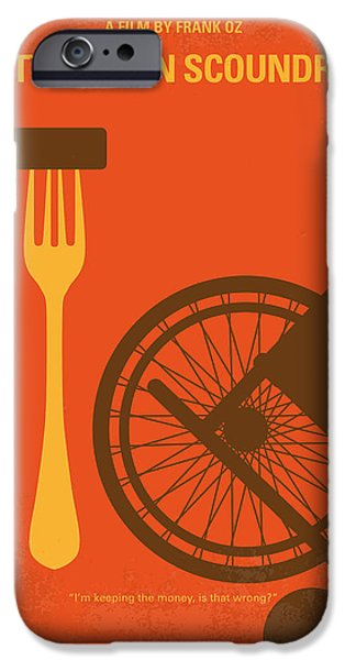 No536 My Dirty Rotten Scoundrels Minimal Movie Poster IPhone Case by Chungkong Art