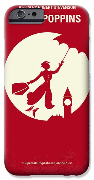 No539 My Mary Poppins Minimal Movie Poster IPhone 6s Case by Chungkong Art