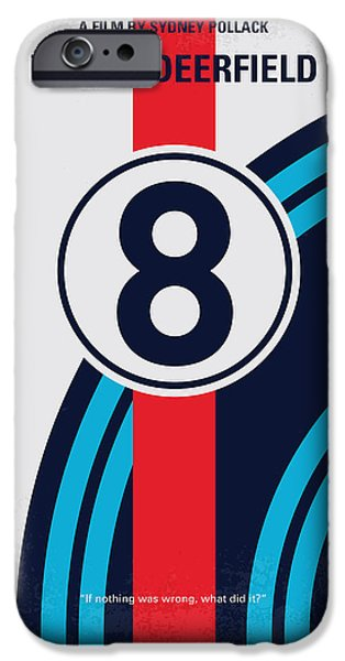No565 My Bobby Deerfield Minimal Movie Poster IPhone 6s Case by Chungkong Art
