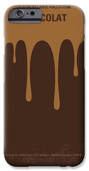 No567 My Chocolat Minimal Movie Poster IPhone Case by Chungkong Art