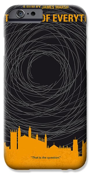 No568 My The Theory Of Everything Minimal Movie Poster IPhone Case by Chungkong Art